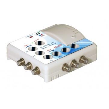 Amplificateur d'intérieur TNT - 1E/6S - LED de réglage