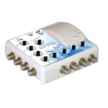 Amplificateur d'intérieur TNT - 1E/8S - LED de réglage
