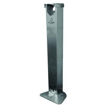 Distributeur à pied de gel ou solution hydro-alcoolique