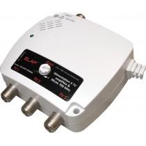 Alimentation amplifiée filtrée 230Vac / 12Vcc – 100 mA 2 sorties TV