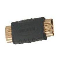 Adaptateur HDMI femelle / femelle doré