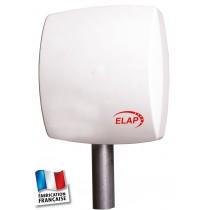 Antenne PATCH TNT couleur blanche - Sèche - Gain : 10,5 dBi