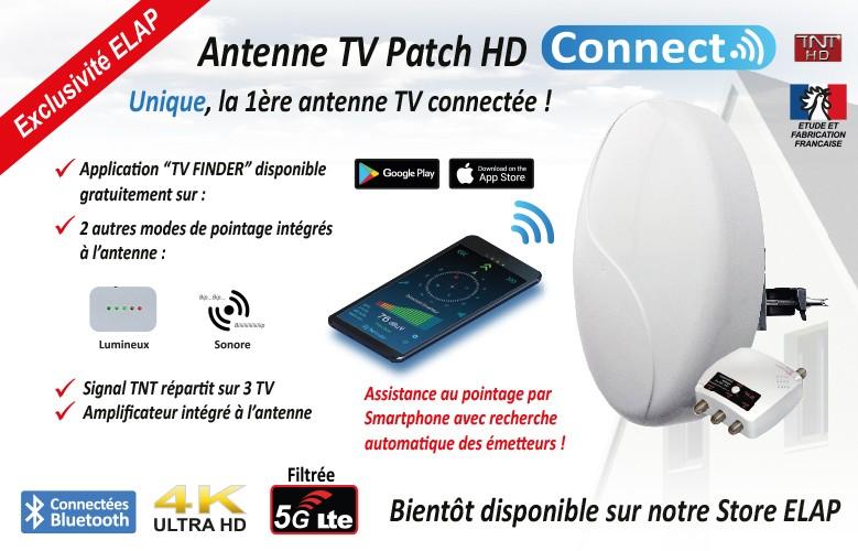 Antenne Patch connectée